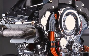 AMG PU106A F1 Hybrid Power Unit - image care of Mercedes-Benz