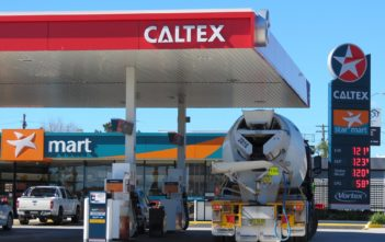 Caltex Retail Site - Image by eCarInsight