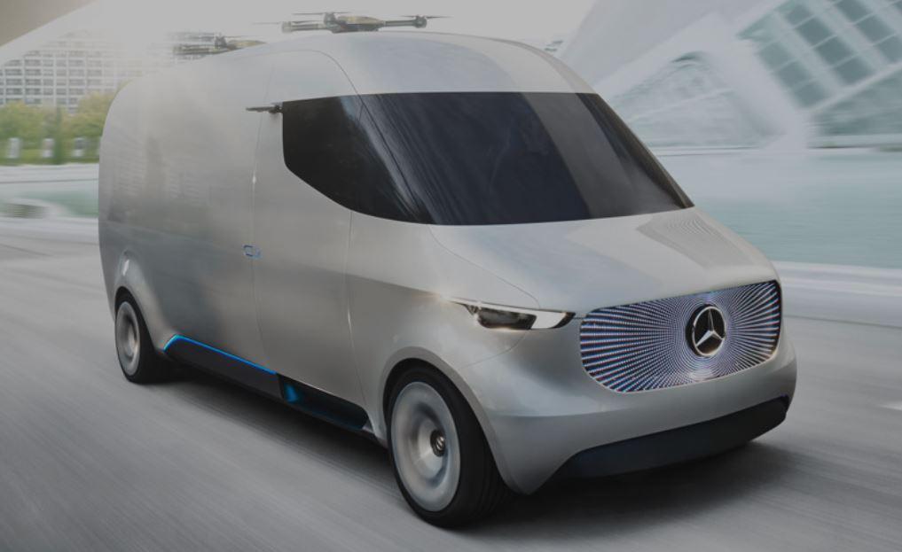 Benz Vision Van EV Concept 2016 - ecarinsight