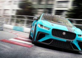 Jaguar I-Pace eTROPHY Racing Series 2018